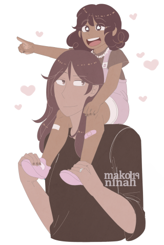 avery and her mom smol