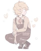 cameron sitting smol