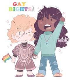 gay rights smol